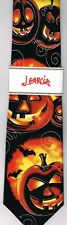 "SUPER RARE Jerry Garcia NEW ""Demon"" Halloween Tie Necktie NWT Fall Holiday #54"