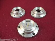 Racing Hart EVO Wheels Silver Custom Wheel Center Cap ALLOY SET OF THREE