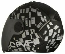 Steelbird Air SBA-2 Full Face Motorcycle Helmet Safe Stylish Black Silver S2u