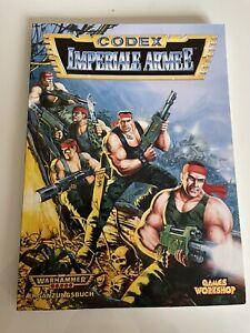 Warhammer 40k Codex Armeebuch Imperiale Armee Astra Militarum Imperium 2. Edt.