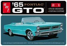 AMT 1965 Pontiac GTO Stock/Custom  2'n1 Plastic Model Kit 1/25 1191