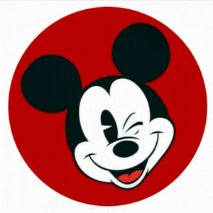 Snap Jewelry Mickey Mouse Red & Black 18-20mm Fits Ginger Charms Accessories New