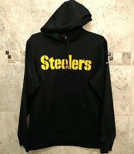 61d152db33e1 Nike Mens Pittsburgh Steelers On Field Player Therma for hooded sweatshirt  small