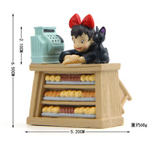 Cartoon Kiki's Delivery Service JiJi Bread Bakery Figure Statue Figurine Doll