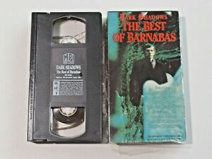 Dark Shadows The Best of Barnabas VHS Home Video 1990 MPI