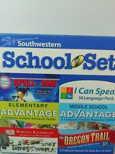 Childrens Pc Games 6 Cd Set Southwest School Learning Co Home School Sealed Fs