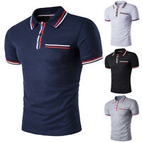 New Hot Mens Fashion Short Sleeve Casual Shirt T-shirts Tee Tops M/L/XL/XXL