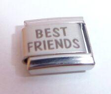 BEST FRIENDS Italian Charm Friend Besties N253 fit 9mm Classic Starter Bracelets