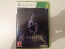 Resident Evil 6 GAME FOR XBOX 360 PAL GAMES NOT WAS USED ONLINE