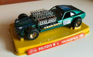 Mexican Vintage McGregor POLISTIL POLITOYS FORD MUSTANG IV Made in Mexico