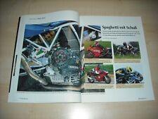 Mo revista 3174) ducati 900 SS tuningspezial con los modelos de: Ferracci-B