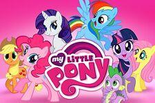 CIALDA in ostia my Little Pony, 20 x 30 cm, personalizzabile, decorazione torta