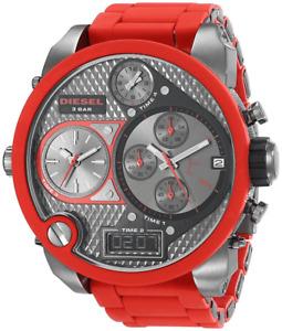 Diesel Mr. Daddy Red Watch DZ7279 NEW