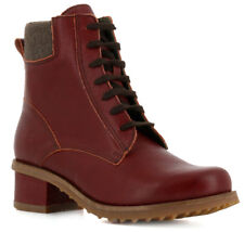 EL NATURALISTA SHOES KENTIA LACE UP BOOT 5105 ADOBE RED 40 NEW $200