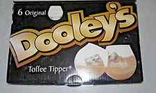 NEW Original Dooley's Toffee Tipper Set Of 6 - Bar Man Cave Novelty Item