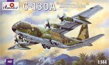 A Model 1/144 C-130A Hercules Plastic Model Kit AMZ14437 AMZ14437