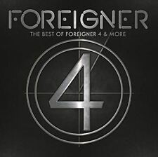 Best Of 4 & More Live - Foreigner Brand New Sealed CD-Free Shipping