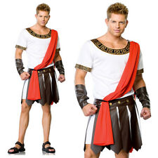Julius Caesar Roman Greek Emperor Warrior Mens Halloween Fancy Costume One Size