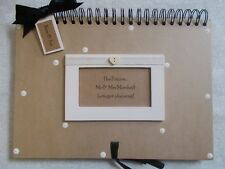 Personalised Handcrafted A4 Wedding Planner Scrapbook Album Multi Use QUICK POST