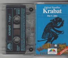 MC - Otfried Preußler - Krabat - Das 1. Jahr - Spectrum Junior Kassette selten !
