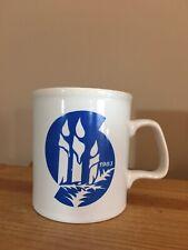 1983 Kiln Craft Staffordshire England Mug w/ Holiday Candles Design