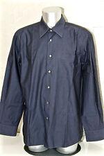 HUGO BOSS - jolie chemise habillée bleue - Taille 45 / 17 3/4 - EXCELLENT ÉTAT