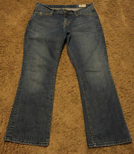 Women's Ladies Gap BOOTCUT Stretch Blue Jeans Size 10A ~ 10C actual = 33x28