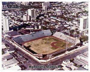 Color Aerial View Honolulu Stadium Hawaii Islanders 8 X 10 Photo Pic