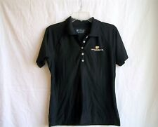 "Black mesh polo shirt from Nicklaus Club Monterery sz. Small, 38"" chest, golf"