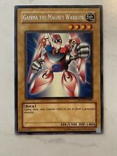 Yugioh Card gamma the magnet warrior RP02-EN091 Near Mint Condition