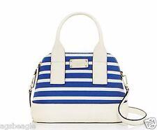 Kate Spade Bag WKRU3076 Southport Avenue Fabric Small Jenny Azure Blue Agsbeagle