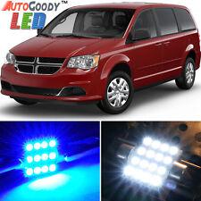 8 x Premium Blue LED Lights Interior Package for Dodge Grand Caravan 08-15 +Tool