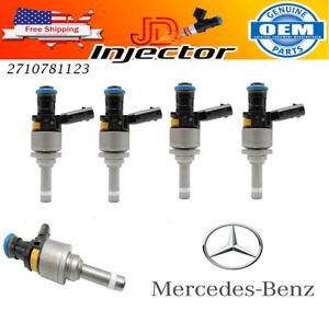 X4 Fuel injectors Mercedes-Benz C250 1.8L A2710781123