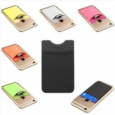 Universal Adhesive Pocket Stick On Wallet Card Holder Pouch Case For Cell Phone