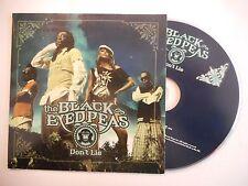 THE BLACK EYED PEAS : DON'T LIE [ CD SINGLE PORT GRATUIT ]