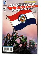 JUSTICE LEAGUE OF AMERICA #1 MISSOURI FLAG COVER VARIANT, DC