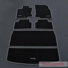 Velours Fußmatten Edition Set 6-tlg. für Nissan Qashqai II J11 ab Bj.02/2014 si