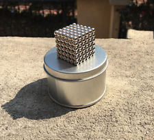 Magic 216pcs 5mm Bead Magnet Cube DIY Magic 3D Puzzle Ball Educational Toy Kids