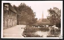 Harnham near Salisbury & Coombe Bissett. The Old Mill.