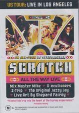 Scratch Live - All The Way - DJ DVD New Region ALL Seal