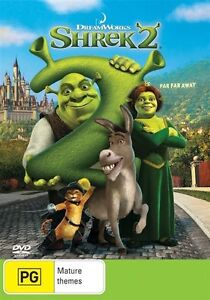 Shrek 2 TWO Second Movie DVD - SAME / NEXT DAY POSTAGE AUSTRALIA