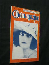 AUG 26, 1921 FRENCH CINEMAGAZINE Uncut Complete 29 pgs