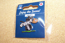 Chicago White Sox Mickey Mouse diving for ball Disney lapel pin MLB