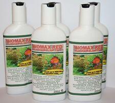 Biomax rouge tropical aquarium plantes engrais X5 bouteilles FREE P&P!!