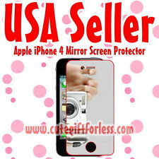 USA Fast Ship Mirror Screen Protector Apple iPhone 4 4G