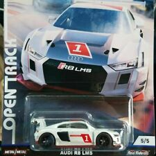 HOTWHEELS 2019 CAR CULTURE OPEN TRACK AUDI R8 LMS  ALLOYS RUBBER TYRES