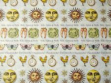 (PRL) DECOUPAGE PAPER PAPIERS CARTA SOLE LUNA STELLE STARS MOON SUN SOLEIL LUNE