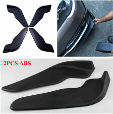 2Pcs Universal Car Bumper Spoiler Front Shovel Decorative Scratch Resistant Wing