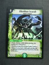 Obsidian Scarab 5/55 Foil - Duel Masters Cards #4NR