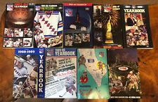 New York Rangers Yearbook Media Guide Lot- 1983-1992